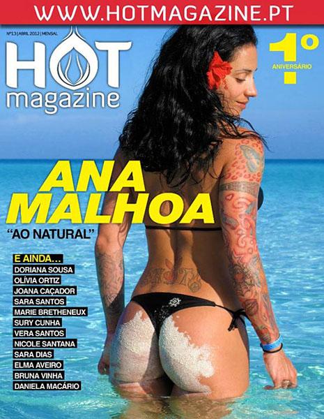 Fotos ana malhoa hot magazine